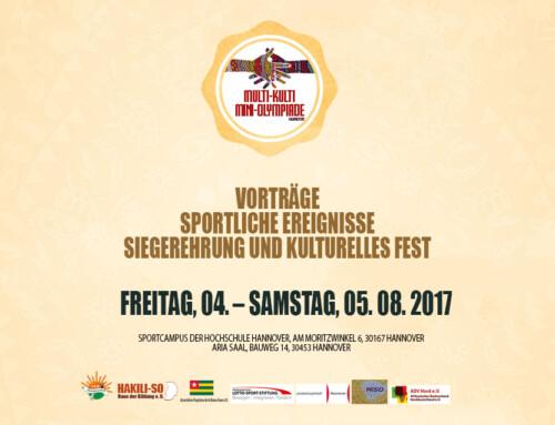 Multi-Kulti-Mini-Olympiade Hannover 2017
