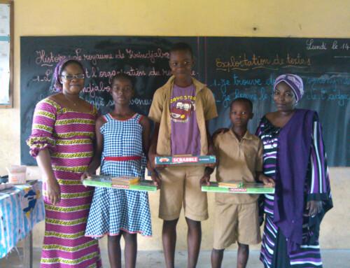 Weihnachtfest für die Kinder aus Abobo